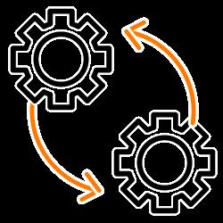 Ícone de Gestão e Controle.