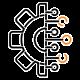 Ícone de Gestão e Inteligência Artificial.